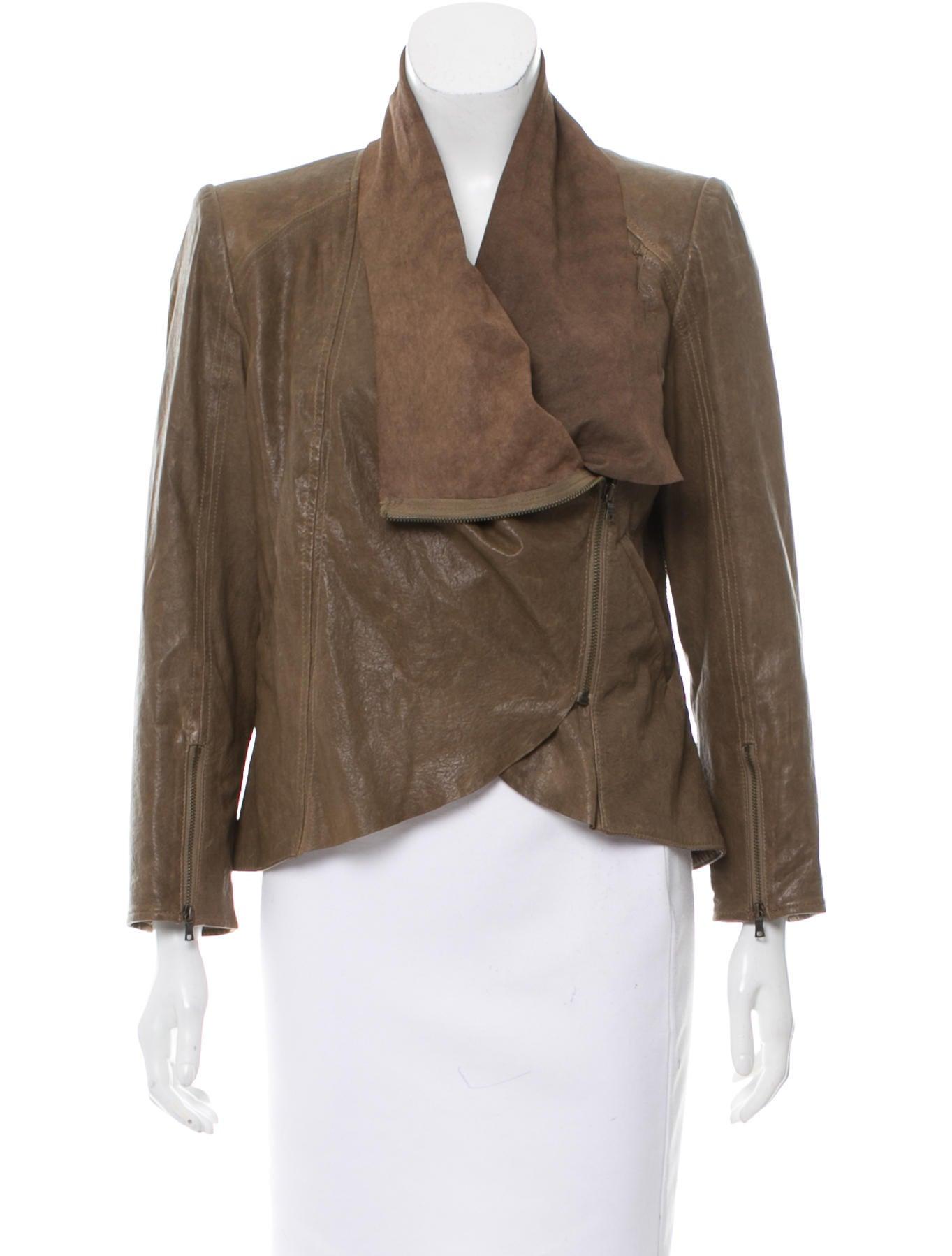 Alice olivia leather jacket
