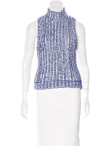 Alice + Olivia Knit Sleeveless Top w/ Tags None