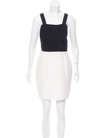 Alice + Olivia Cutout Mini Dress None