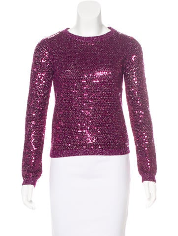 Alice + Olivia Embellished Knit Sweater w/ Tags None
