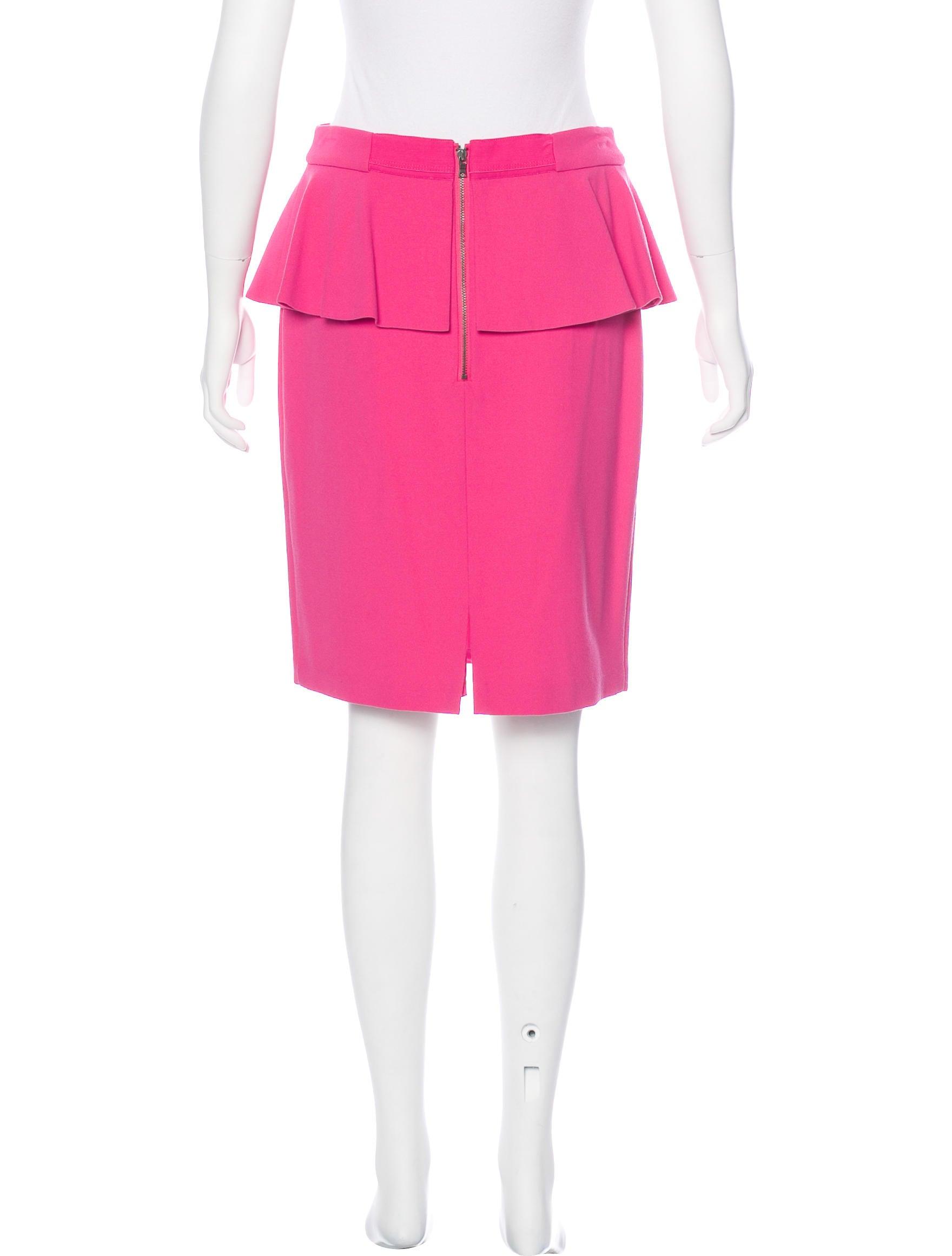 peplum pencil skirt w tags clothing