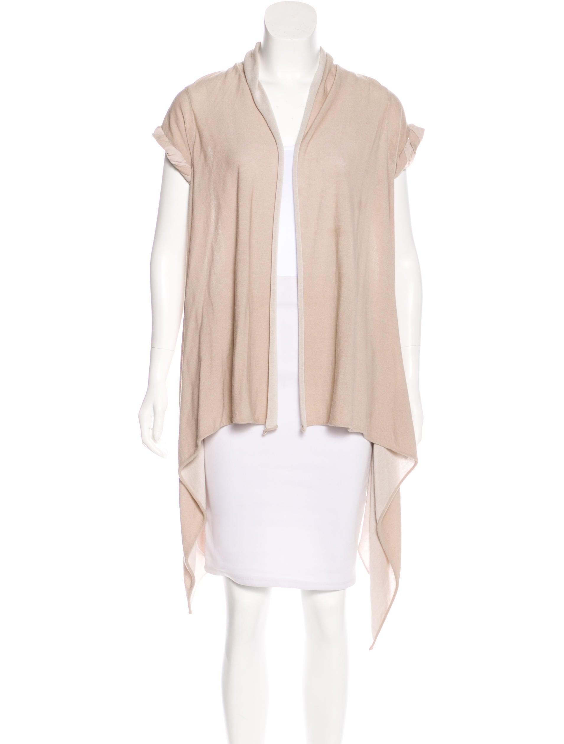 Alice   Olivia Short Sleeve Open Front Cardigan - Clothing ...