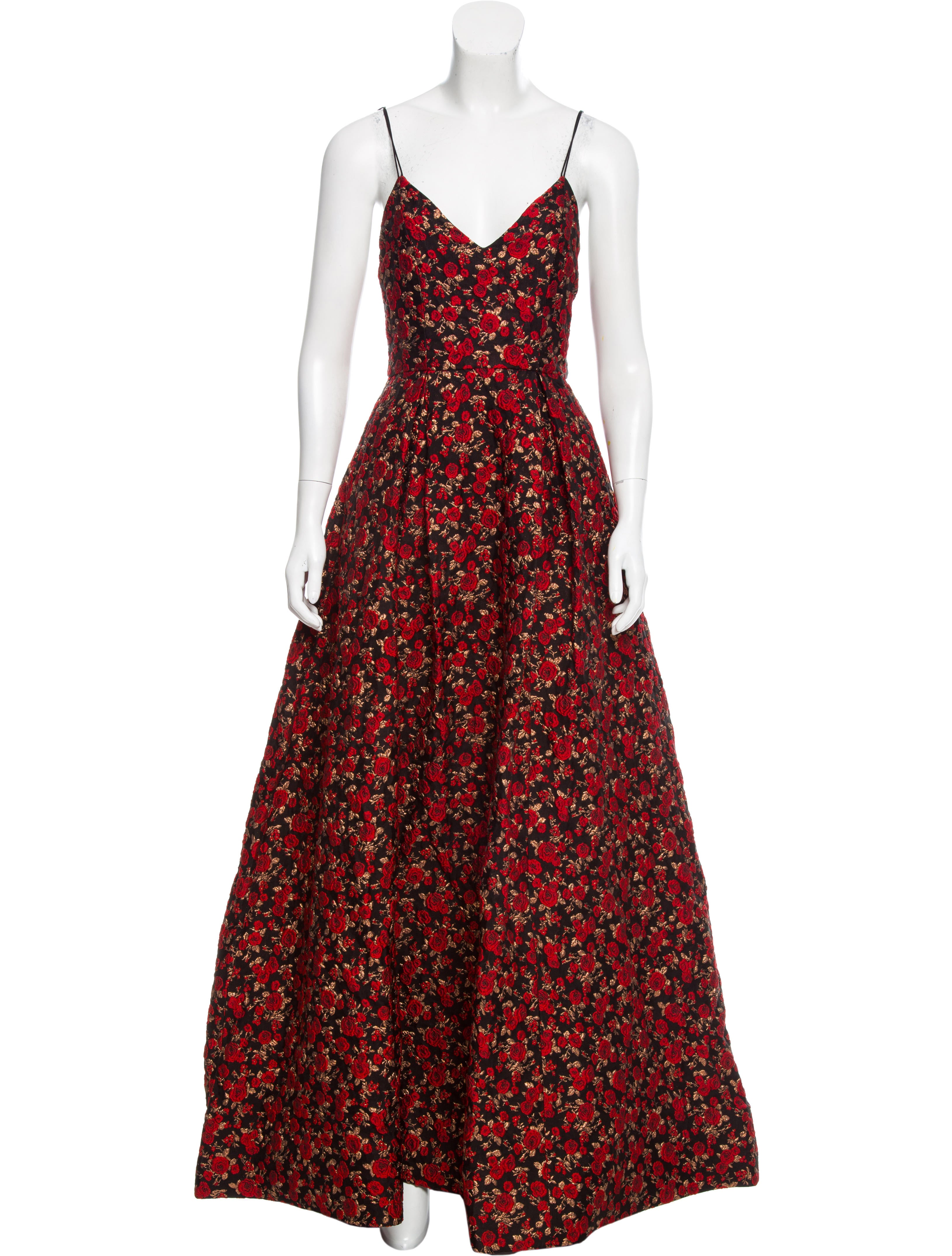Alice + Olivia Rose Brocade Evening Gown w/ Tags - Clothing ...