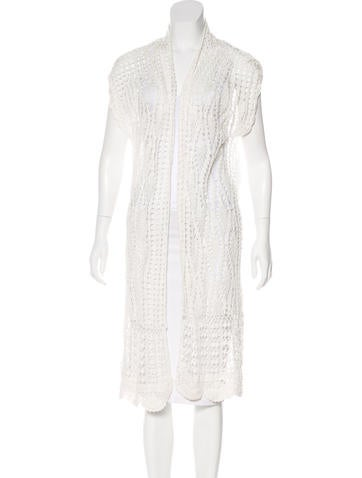Alice + Olivia Lace Knit Cardigan w/ Tags None