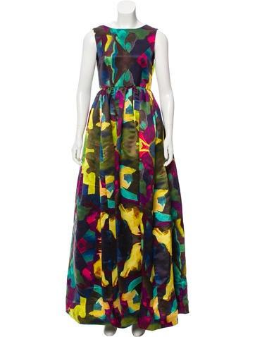 Watercolor evening dresses