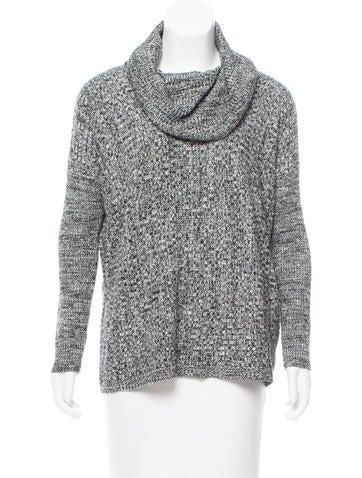 Alice + Olivia Mélange Rib Knit Sweater None