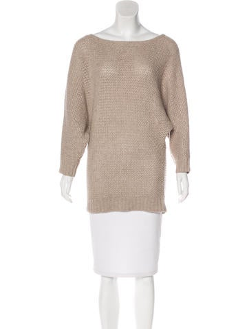 Alice + Olivia Long Sleeve Knit Sweater None