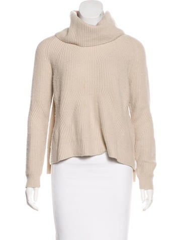 Alice + Olivia Wool Cowl Neck Sweater None