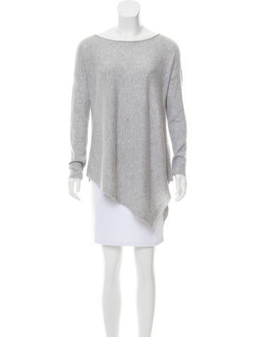Alice + Olivia Mélange Asymmetrical Sweater None