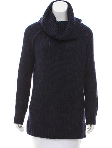 Alice + Olivia Oversize Rib Knit Sweater None