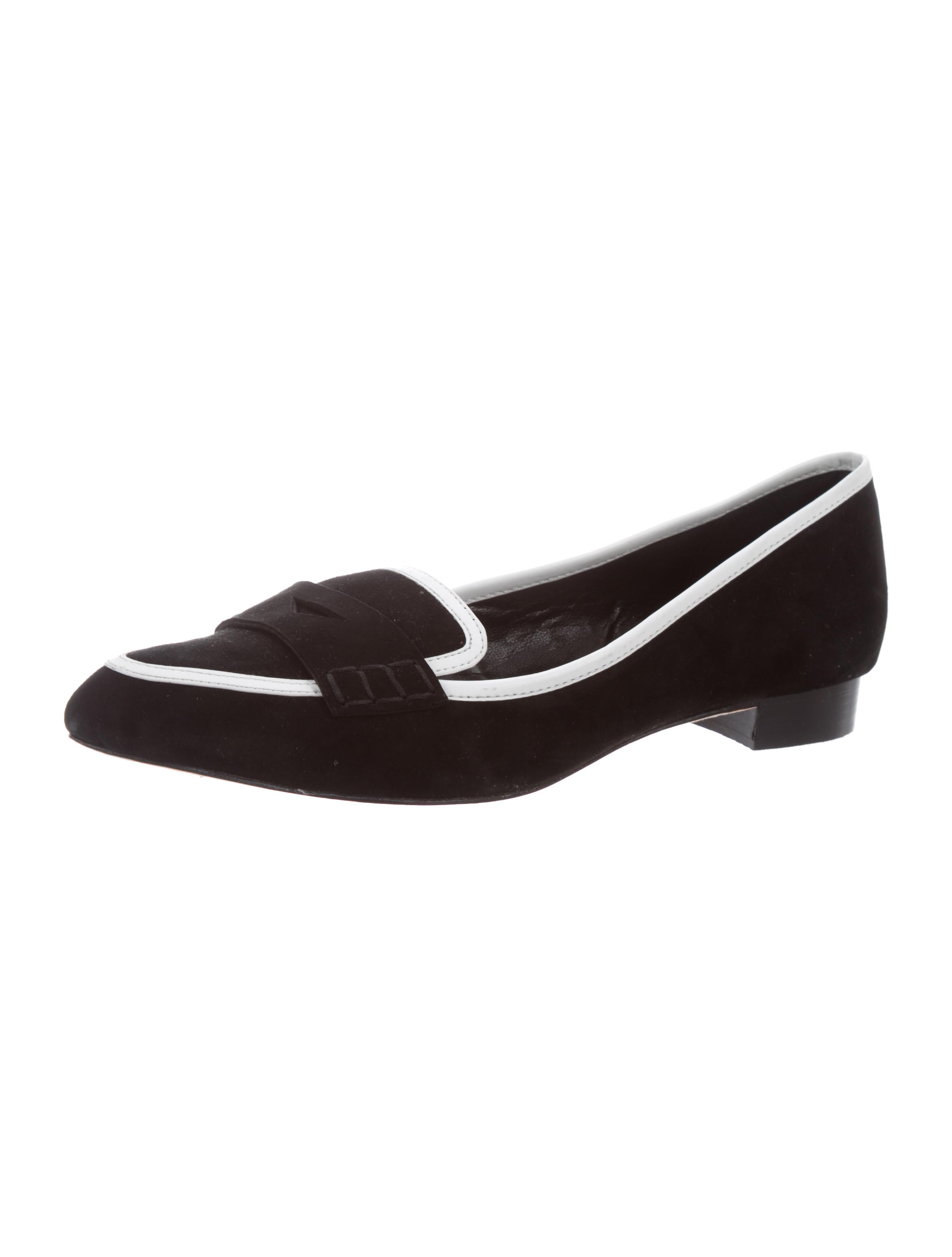 purchase cheap price sale new Alice + Olivia Pointed-Toe Penny Loafers supply cheap online clearance footlocker from china low shipping fee VJDAtFM