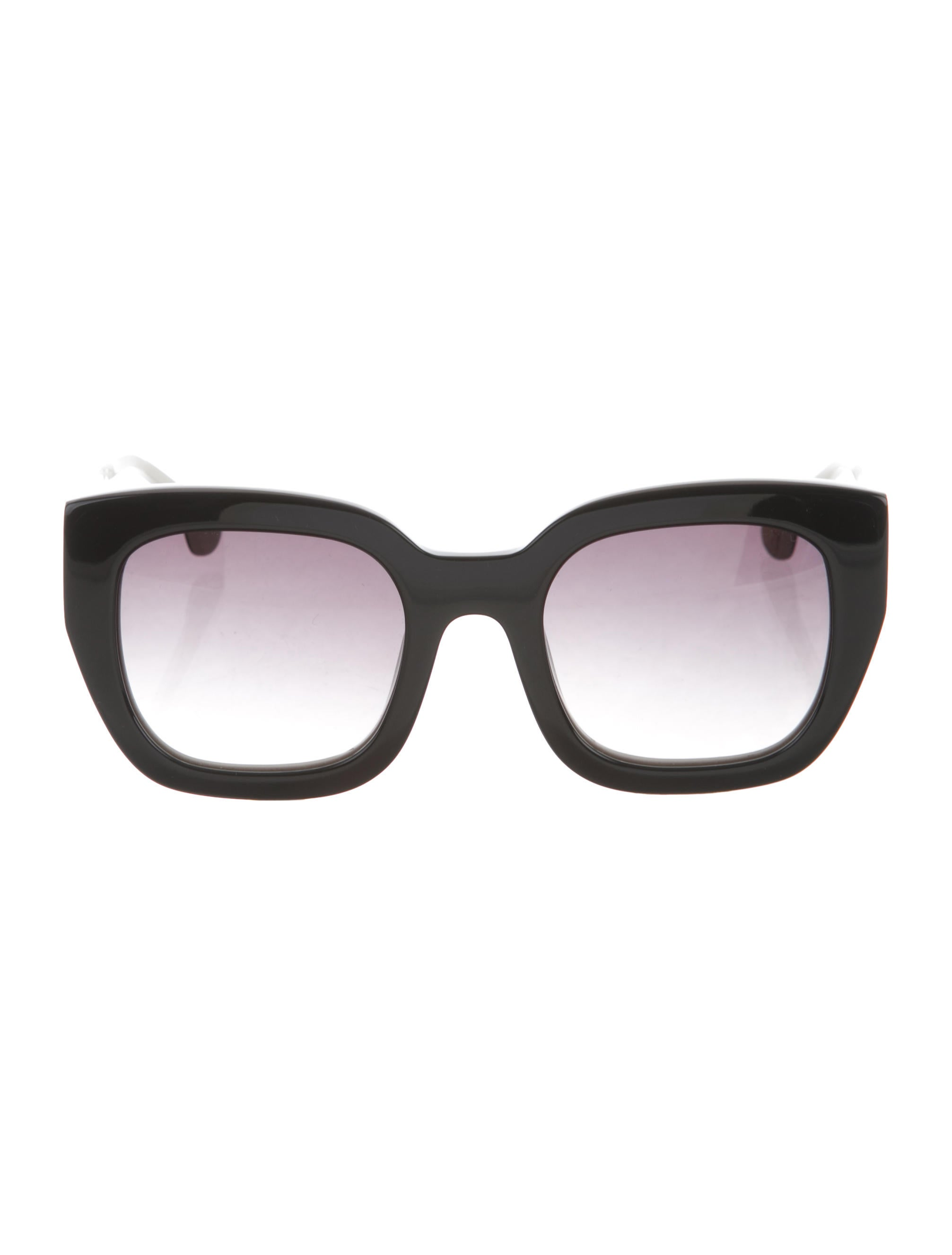 fd4b3fd751 Alice + Olivia Alice + Olivia Aberdeen Oversize Sunglasses ...