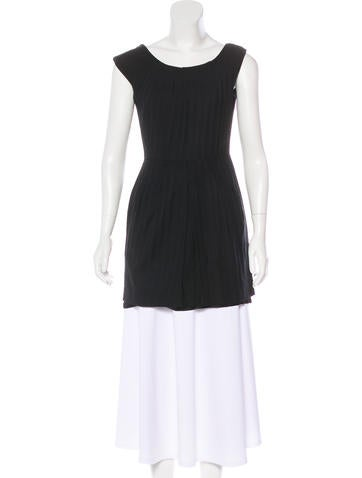 Alice + Olivia Sleeveless Tunic None