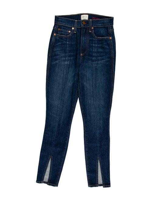 Ao.la High-Rise Skinny Leg Jeans Blue