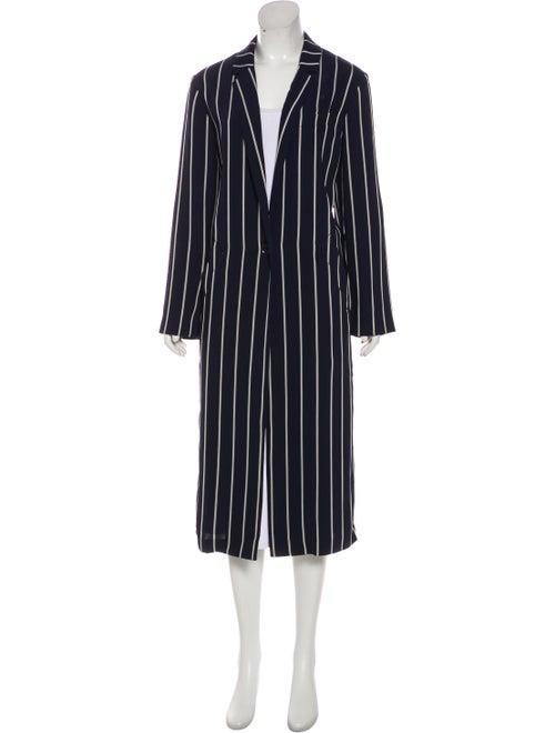A.o.t.c. Striped Coat Blue