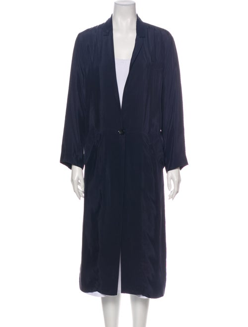A.o.t.c. Trench Coat Blue