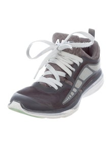 APL Colorblock Pattern Round-Toe Chunky Sneakers