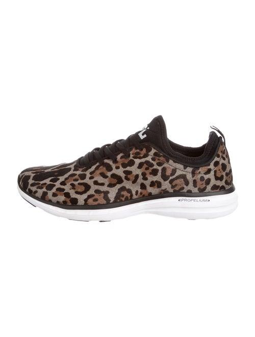 APL Ponyhair Animal Print Athletic Sneakers