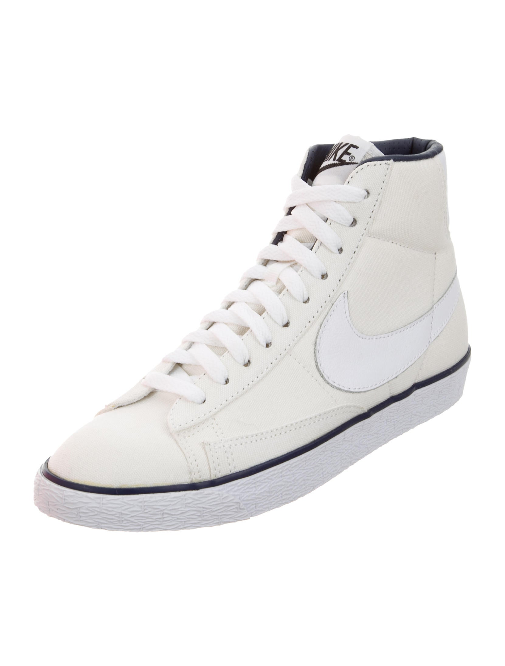 a p c x nike canvas high top sneakers w tags shoes