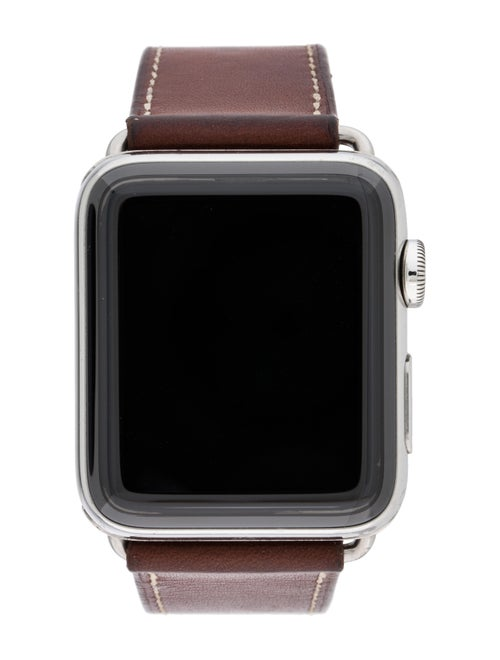 Apple x Hermès Series 3 Watch brown