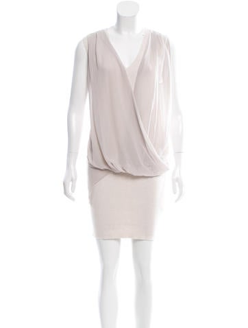 AllSaints Sleeveless Draped Dress w/ Tags None
