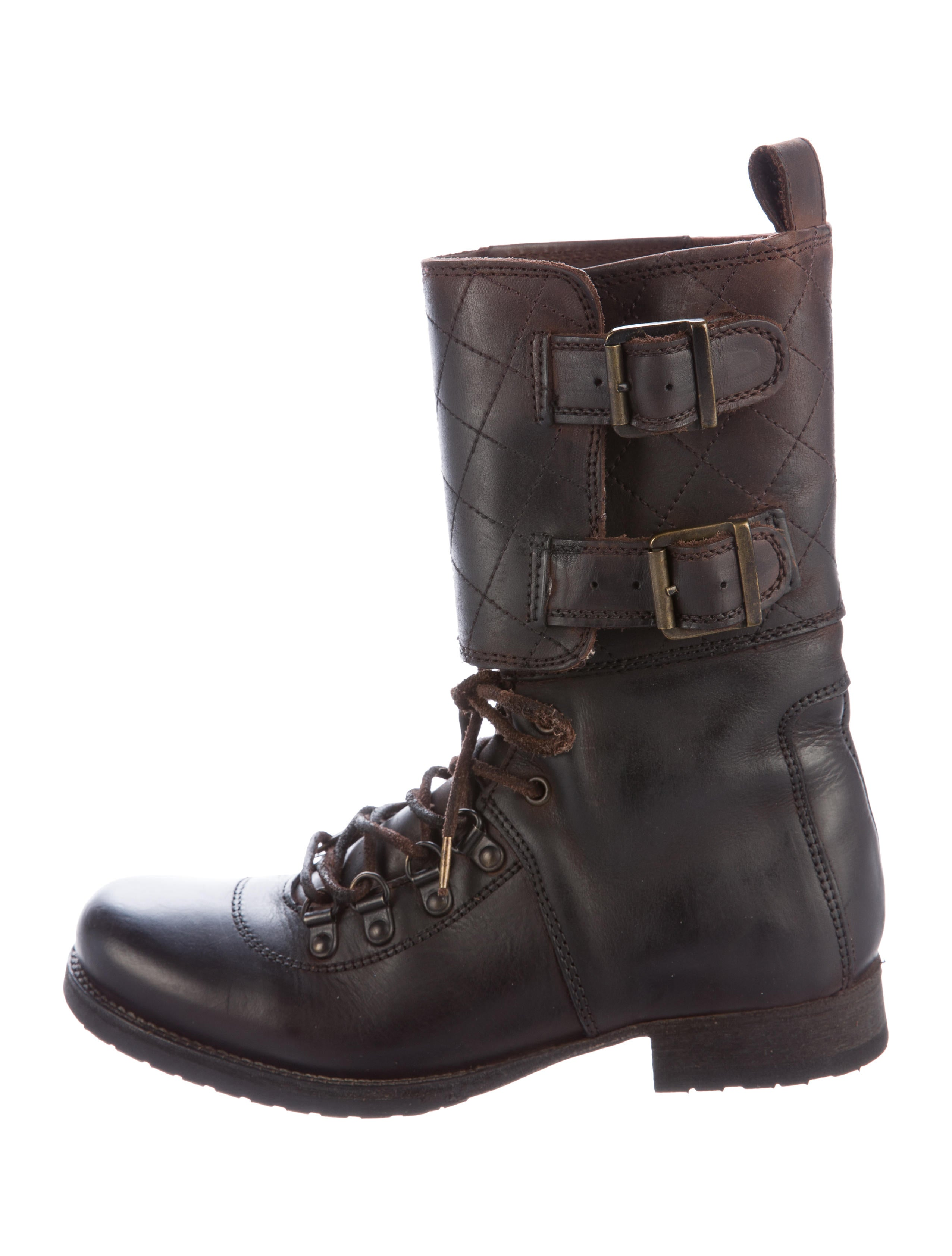 Find quilted leather boots at ShopStyle. Shop the latest collection of quilted leather boots from the most popular stores - all in one place.