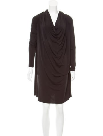 AllSaints Long Sleeve Knee-Length Dress w/ Tags None