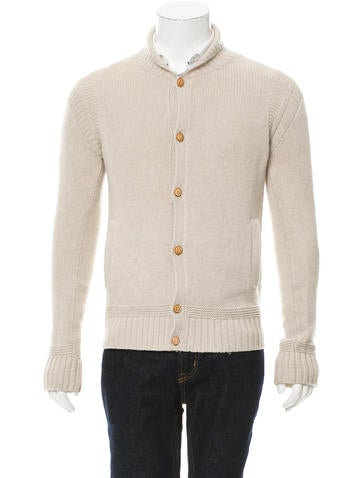 AllSaints Wool Shawl Collar Cardigan None