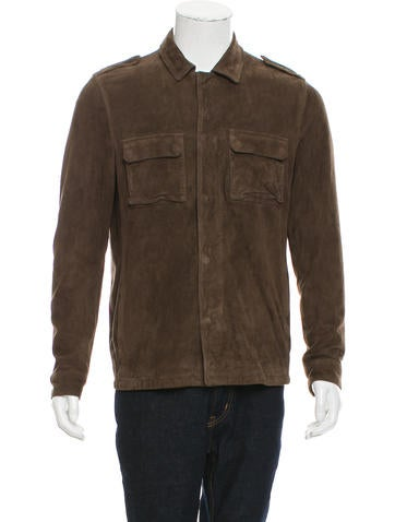 AllSaints Suede Jacket None