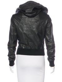 4ee39133b AllSaints Cobra Leather Bomber Jacket - Clothing - WAQ20656   The ...