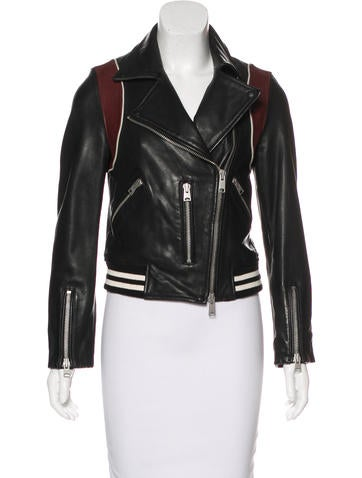 AllSaints Leather Biker Jacket w/ Tags None