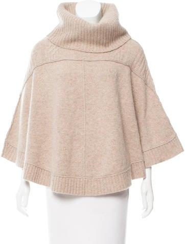 AllSaints Knit Wool Poncho None