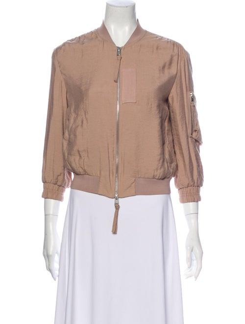 AllSaints Bomber Jacket Pink