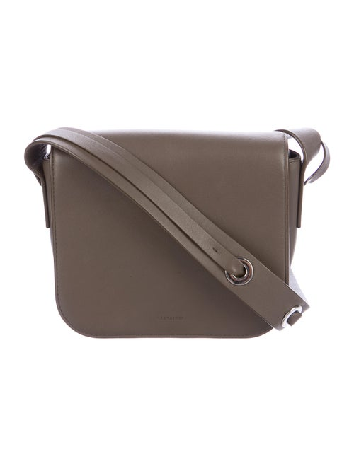 AllSaints Leather Crossbody Bag Brown