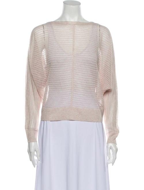 AllSaints Bateau Neckline Sweater Pink