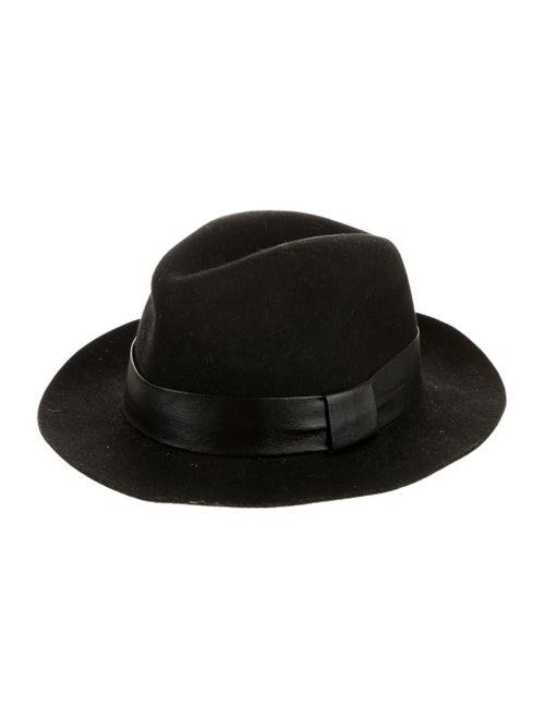 AllSaints Wool Fedora Hat black - image 1