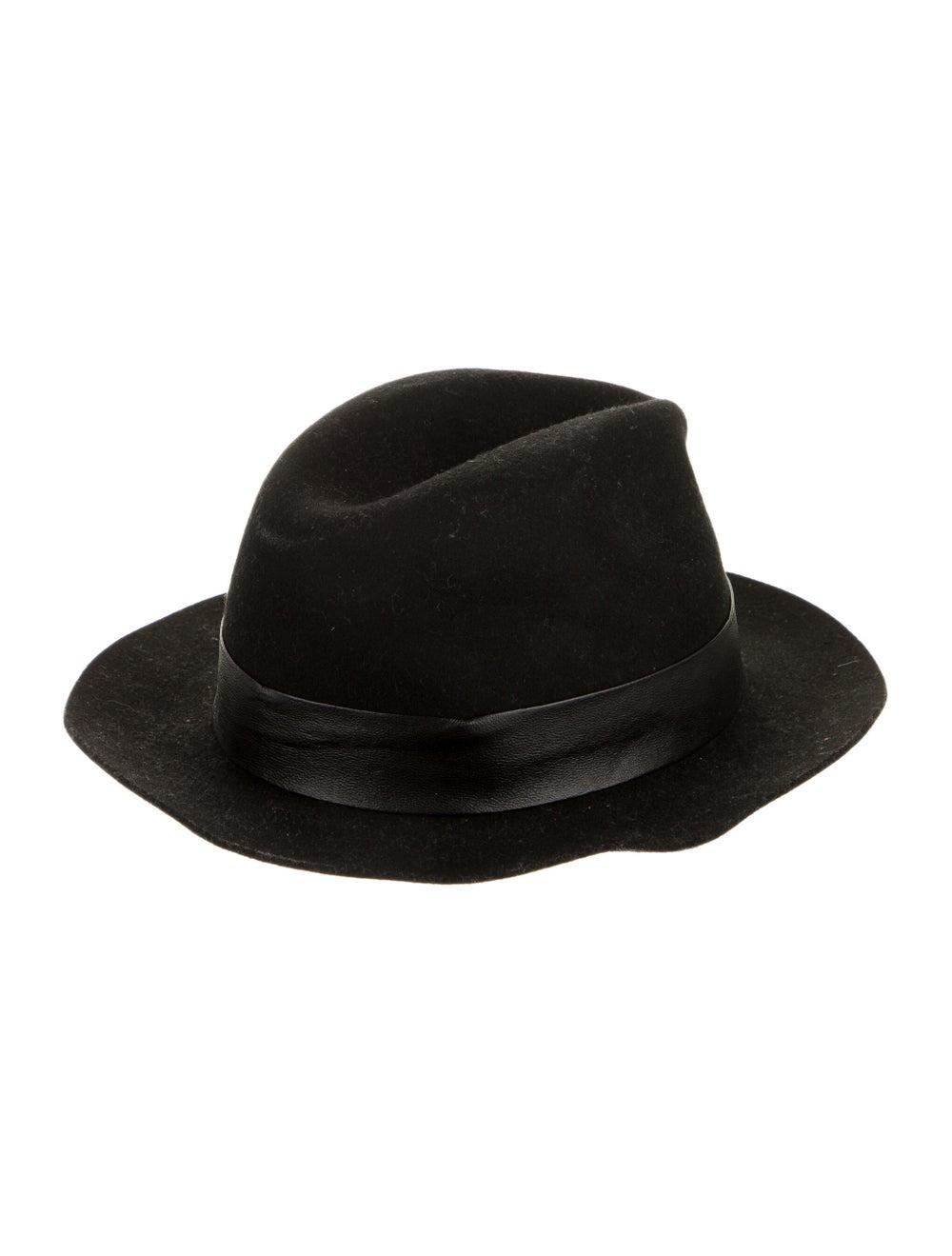 AllSaints Wool Fedora Hat black - image 2