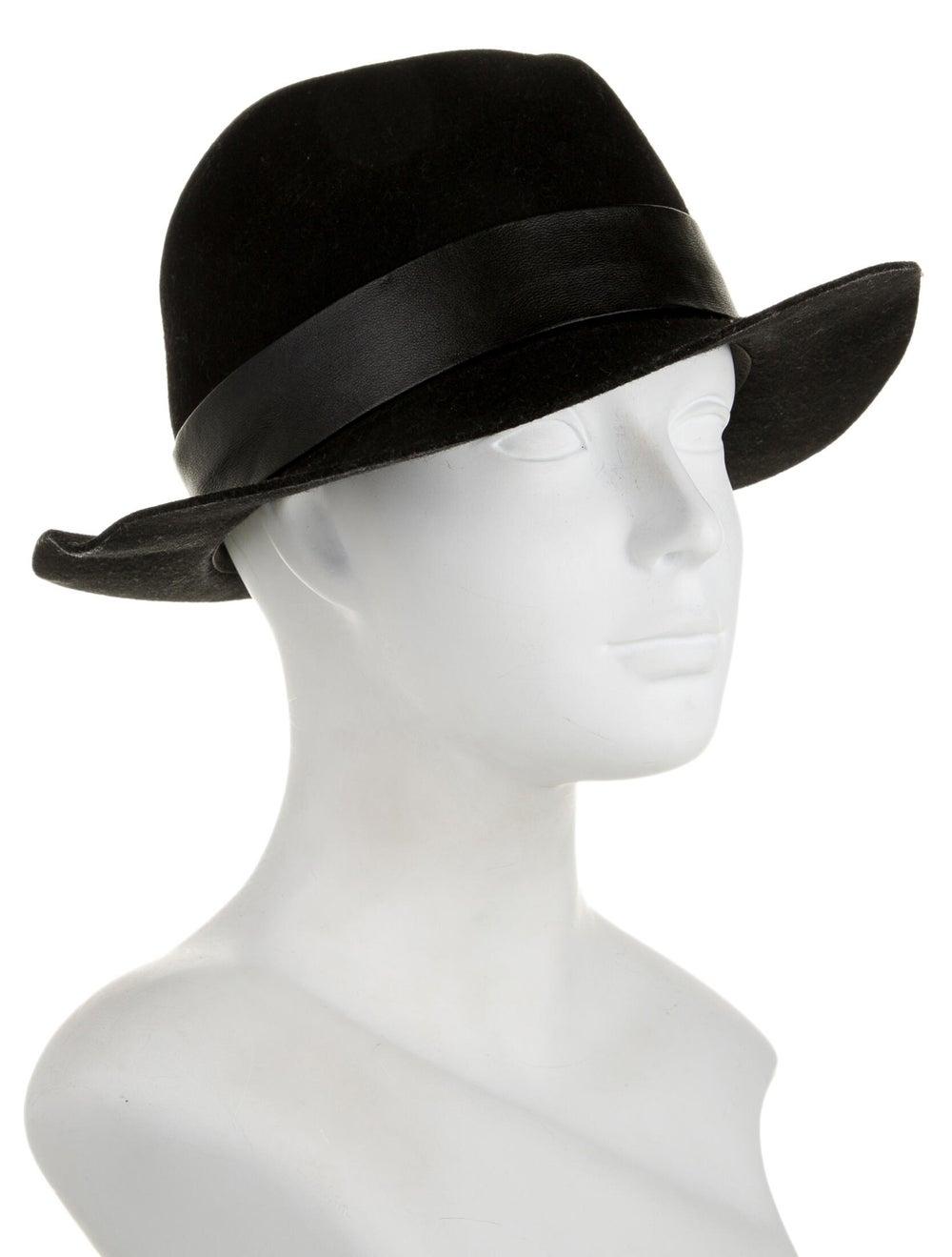 AllSaints Wool Fedora Hat black - image 3