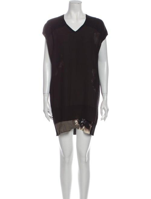 AllSaints Wool Mini Dress Wool