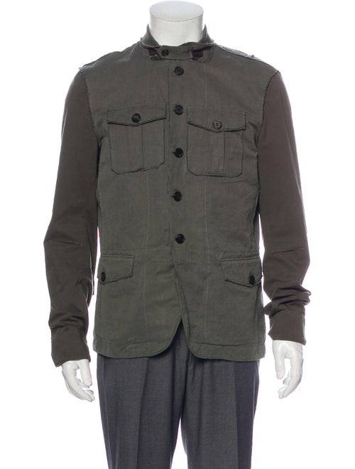 AllSaints Utility Jacket Green