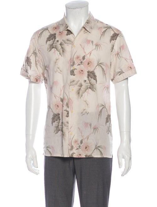 AllSaints Mawsim SS Graphic Print Shirt
