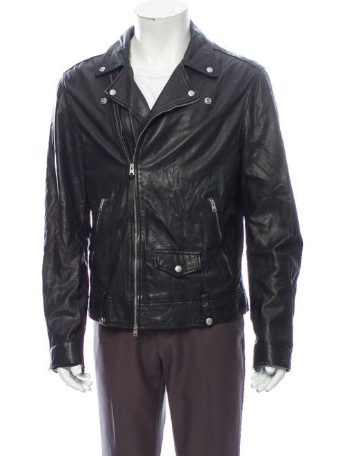 AllSaints Moto Jacket Black