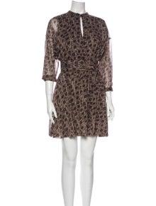 AllSaints Silk Mini Dress w/ Tags