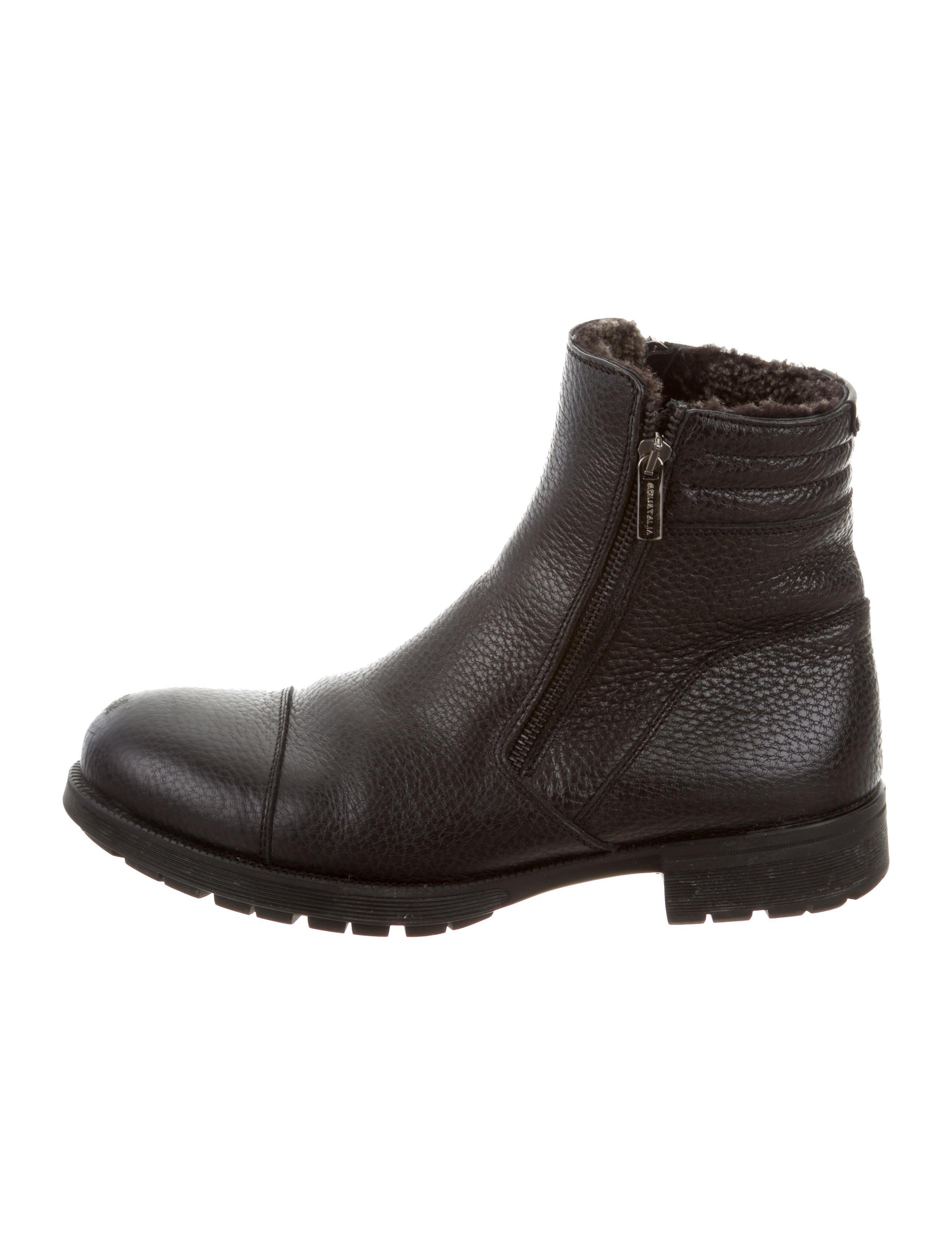 aquatalia leather zip ankle boots shoes waqtl20187