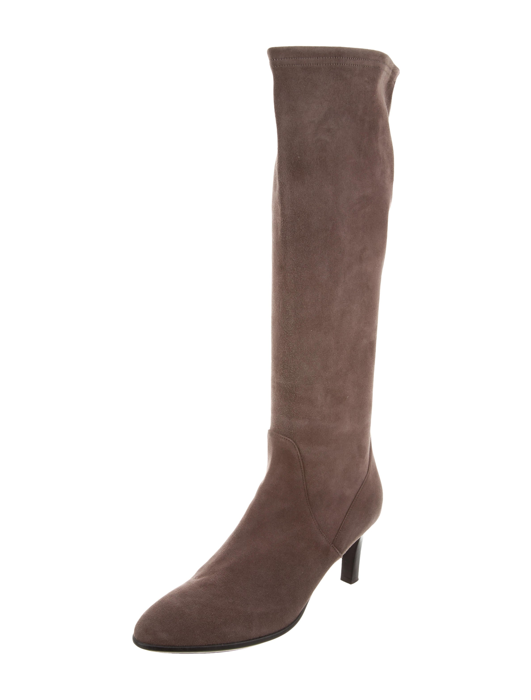 aquatalia suede knee high boots shoes waqtl20293 the
