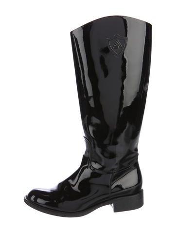 aquatalia patent leather boots shoes waqtl20336