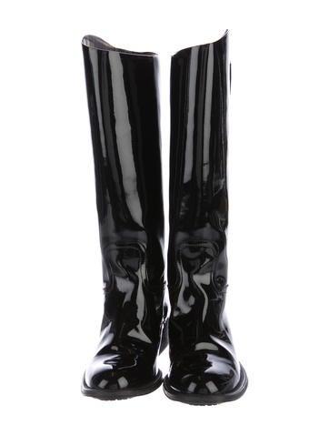 4a4acfe472b Black Patent Boots | eBay