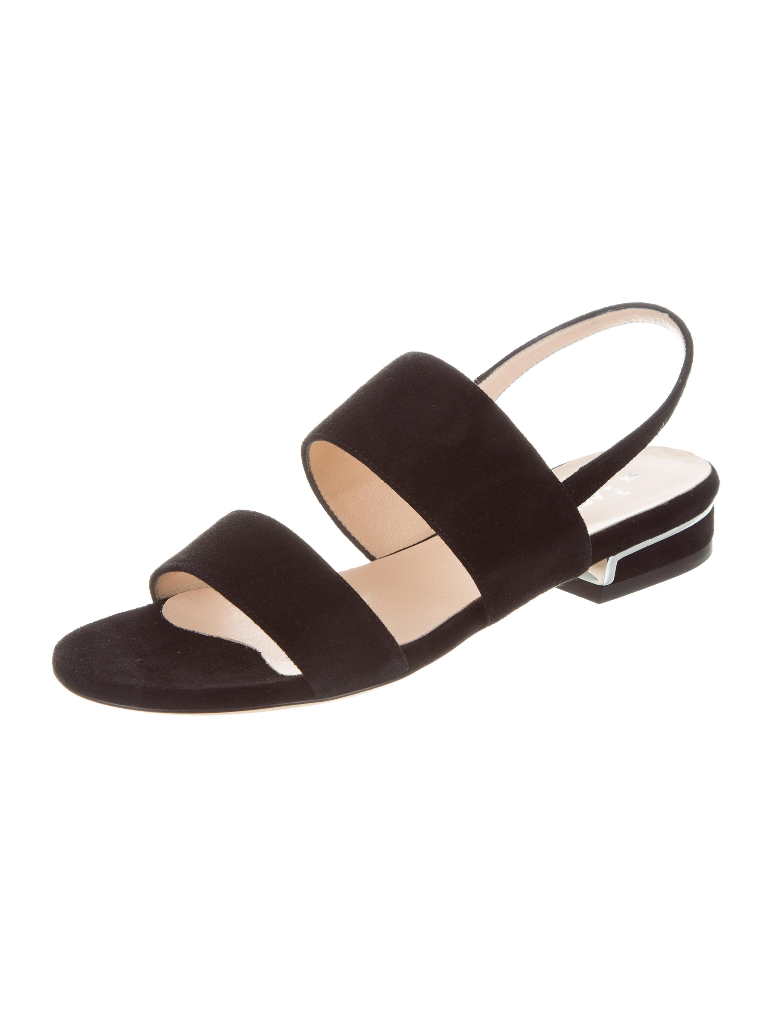 sale excellent purchase cheap price Aquatalia Adina Black Suede Sandals w/ Tags discount official site discount codes really cheap 8CUuQ3DZsw