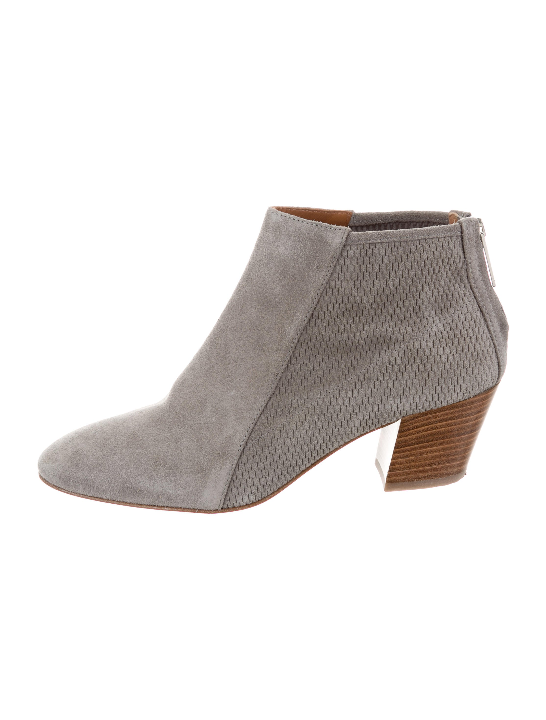cheap looking for geniue stockist for sale Aquatalia Suede Round-Toe Ankle Boots buy cheap free shipping free shipping visit new wdOYE1