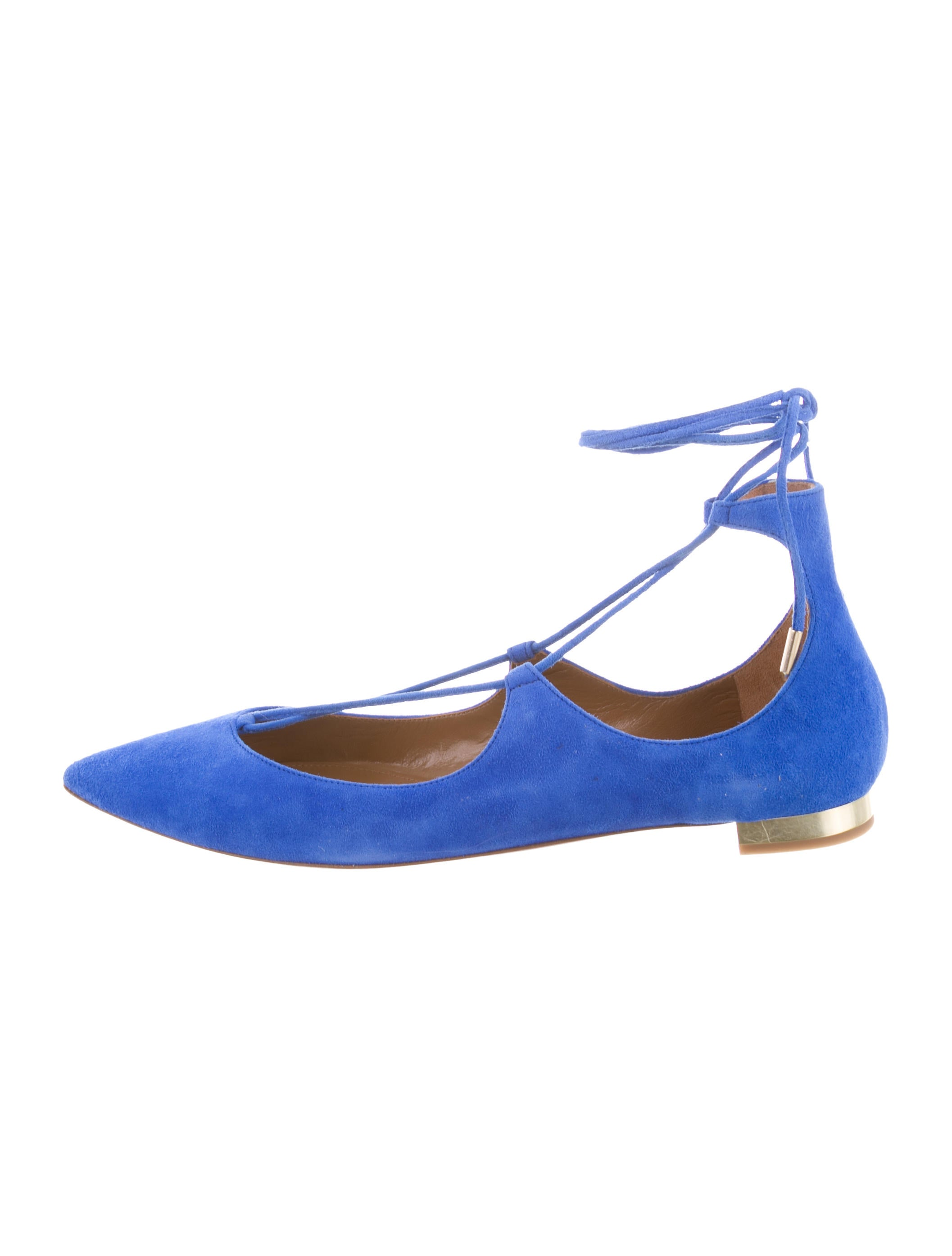 sale purchase free shipping excellent Aquatalia Christy Lace-Up Flats w/ Tags A95TGU